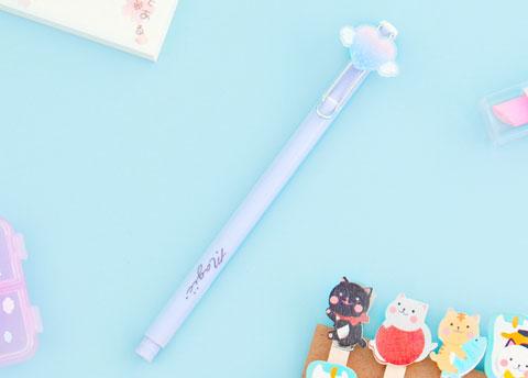 Pastel Heart Clip Pen