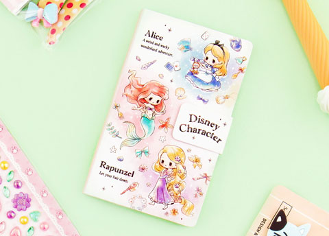 Disney Characters Notebook