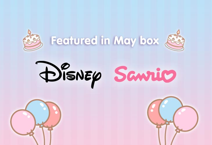 Featured kawaii brands & characters