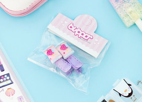 Kawaii Candy Wrapper Hair Clip