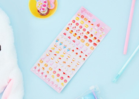 Nekoni Mini Puffy Stickers
