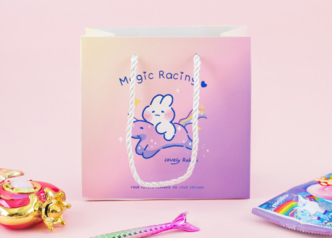 Magical Bunny Pastel Gift Bag