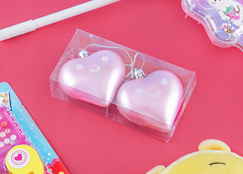 Kawaii Heart Ornaments