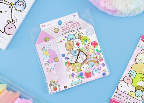 San-X Sparkly Sticker Flakes
