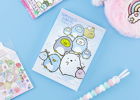 Sumikko Gurashi Travel Notepad