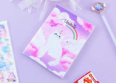 Dreamy Unikitty Notebook