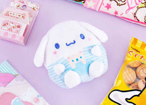 Sanrio Soft Plushie Purse