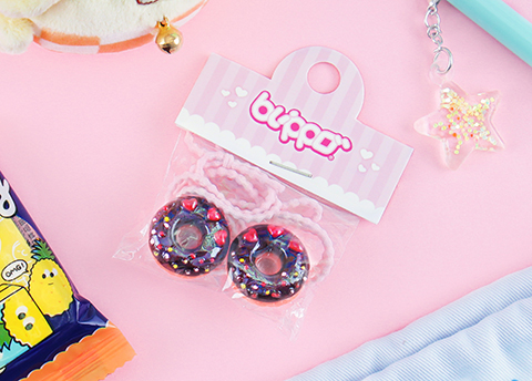 Sweet Donut Hair Tie Set