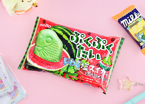 Puku Puku Salty Watermelon Taiyaki Wafer