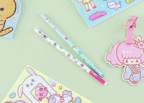 Dreamy Desserts Pencil Set