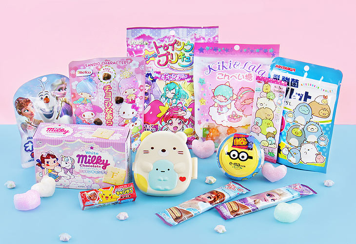Japanese kawaii candy