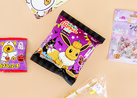Pokémon Halloween Choco Corn Puffs