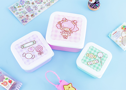 Aiko Sweet Treats Lunch Box Set