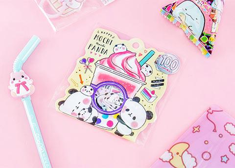Mochi Mochi Panda Stickers