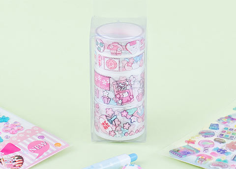 Kawaii Fun Deco Tape Set