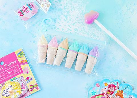 Pastel Ice Cream Highlighter Set